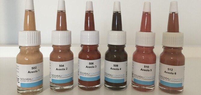 A SAMPLE FROM THE EXTENSIVE RANGE OF PIGMENTS