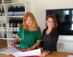 9 of 9 with Karina Hailwood of Martinborough Village
